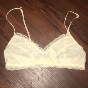 Urban outfitters off white  lace bralette